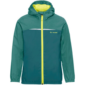 VAUDE Turaco Jas Kinderen, nickel green